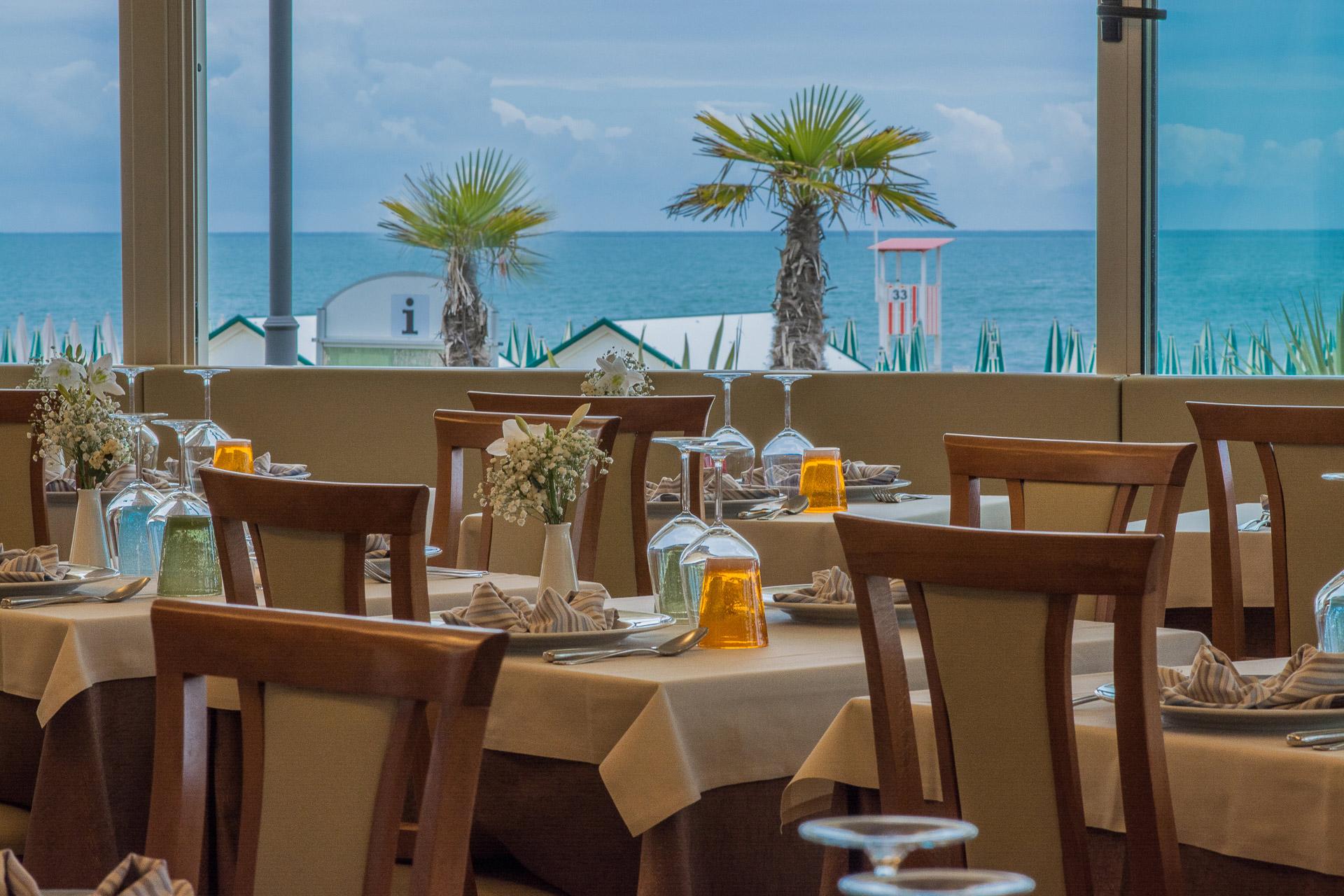 Hotel on the beach Caorle