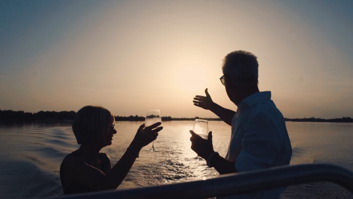 Hotel tre stelle frontemare a Caorle gita in barca